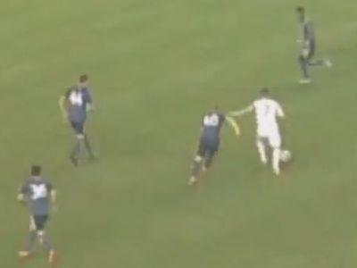 Asa arata VISUL AMERICAN in fotbal: Lob perfect de la 40 de metri! Golul superb aplaudat de tot stadionul. VIDEO
