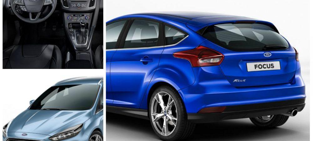 Asa arata noul Ford Focus. Galerie foto cu toate schimbarile facute de americani: