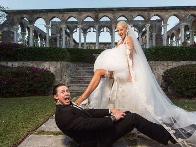 Nunta anului in wrestling! Maryse i-a spus 'DA' lui Miz. Imagini de la petrecerea ca in povesti din Bahamas