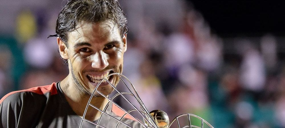 Primul trofeu dupa finala pierduta la Australian Open! Rafa Nadal a castigat turneul de la Rio de Janeiro si ramane no.1!