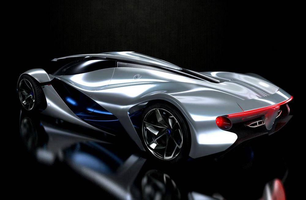 Maserati LaMaserati e doar un concept virtual imaginat de un student la design.
