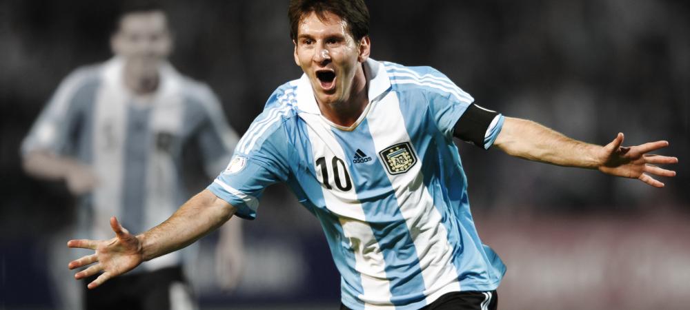 Cat de aproape vrei sa stai de Messi? Pretul biletelor la Romania - Argentina este intre 30 si 800 de lei! Vezi programul caselor de bilete