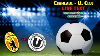 Ceahlaul 1-1 U Cluj! Constantinescu a deschis scorul cu un gol superb! Bucsa egaleaza dupa o faza spectaculoasa a lui Machado