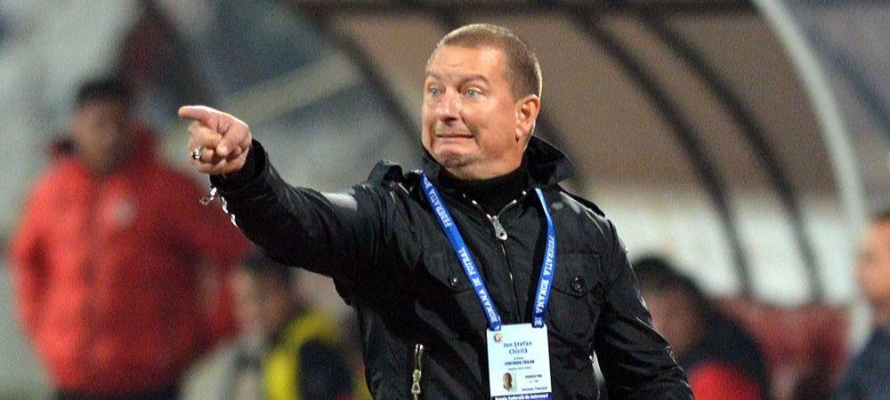 """""""E nevoie de un soc. N-au jucat nici in tur, nici in retur"""" Primarul Chiajnei ii ameninta postul lui Chirila dupa meciul cu Steaua"""