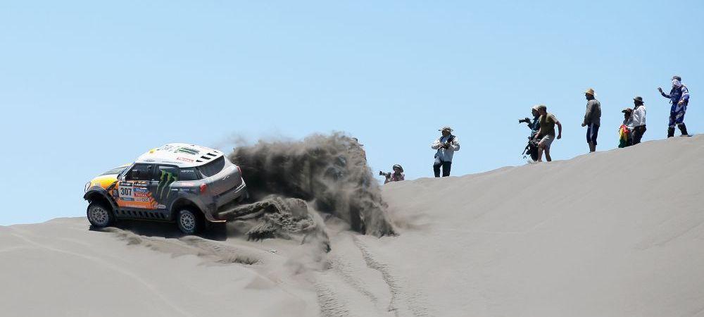 Descoperire incredibila intr-o masina de la Raliul Dakar! Vezi ce au gasit politistii ascuns intr-un Mercedes: