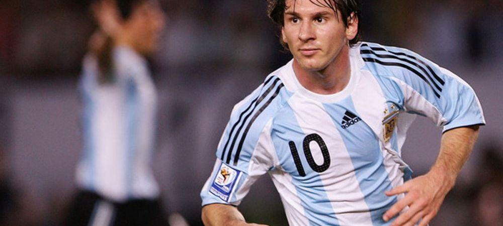 Argentinienii vin mai repede in Romania ca sa vada Steaua - Dinamo! Ce le-au cerut sefilor FRF inainte de vizita lui Messi la Bucuresti