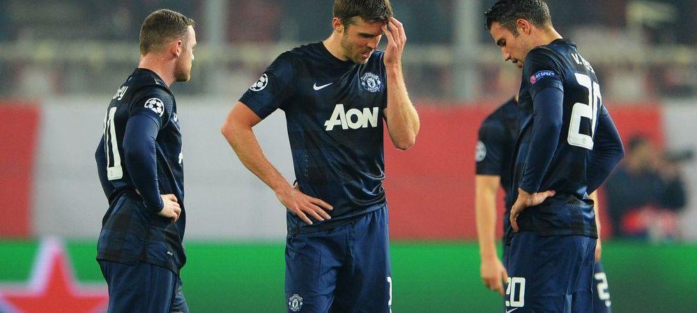 "Criza de la United atinge cote maxime! Van Persie da vina pe jucatori: ""Unii dintre ei ma incurca pe teren!"""