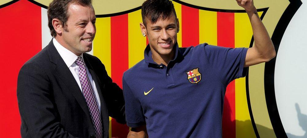 OFICIAL! Neymar, cel mai scump jucator al planetei! Spaniolii dezvaluie suma imensa pentru care brazilianul a ajuns langa Messi si Xavi:
