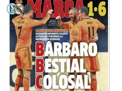Live Blog Liga Campionilor   Chedjou le da sperante turcilor! Galata 1-1 Chelsea   BBC a facut show, Huntelaar l-a imitat pe Zidane! Schalke 1-6 Real Madrid VIDEO REZUMATE