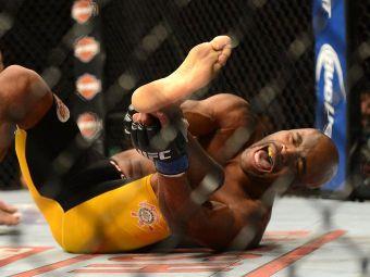 Revenire senzationala pentru Anderson Silva! La doar 9 saptamani de cand si-a rupt piciorul este inapoi sala! VIDEO