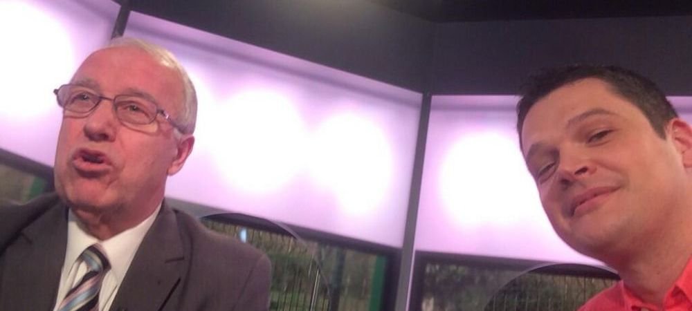 FABULOS! Anghelache si-a facut SELFIE in studioul Sport.ro! Ce a raspuns cand a fost intrebat de contul sau de Facebook
