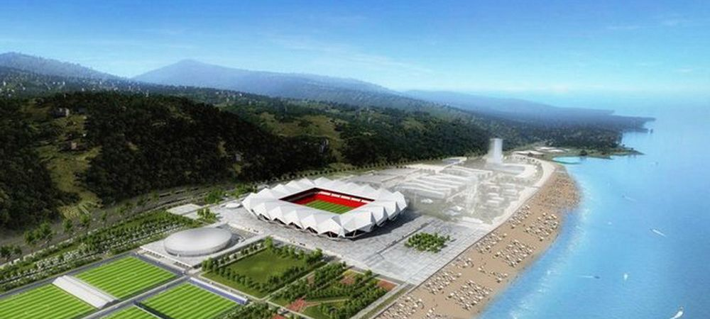 A dat cimitirul pe mare :) Aici va juca Bourceanu din 2015! GALERIE FOTO: Imagini cu noul stadion al lui Trabzon.