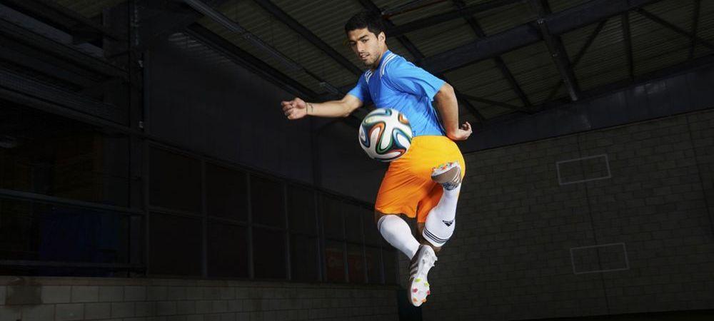 Suarez revolutioneaza moda in fotbal! Starul lui Liverpool va juca cu ghete TRICOTATE :) Vezi cum vor arata: FOTO