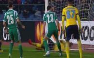 La un pas sa RUPA POARTA!Radu Stefan si Moti au asistat lacel mai rapid gol din Europa League!Ce s-a intamplat in secunda 16 e fantastic. VIDEO