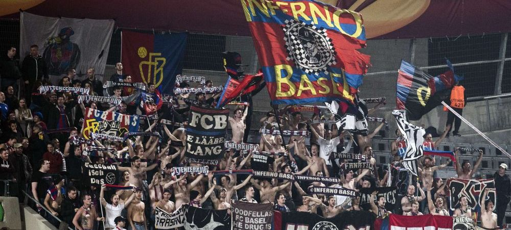 Coregrafie SUPERBA in Europa League! Basel joaca meciul 200 in cupele europene! Cum i-au rasplatit suporterii