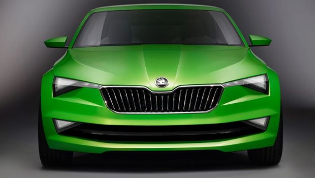 "FOTO SKODA n-a mai facuta asta pana acum: Vision C e gata de lansare! Asa arata ""Hulk"", varianta auto!"