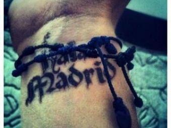 CE GAFA! Tatuajul pe care il va regreta toata viata! Ce si-a scris pe mana DIN DRAGOSTE pentru Real noul star anuntat de Barca pe Camp Nou