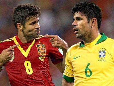 Furia Roja si-a luat BESTIA Nera! Golgheterul Diego Costa va debuta in nationala Spaniei, Del Bosque l-a chemat pentru meciul cu Italia! Lotul complet: