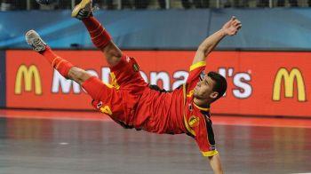 Gestul quenelle nu este acceptat de catre UEFA! Belgianul care a jignit nationala Romaniei a fost pedepsit! Ce sanctiune a primit