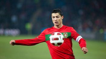 RECORD superb pentru Ronaldo! Cand Messi vomita la Bucuresti, el intra in istorie la Lisabona! Cifre de senzatie: