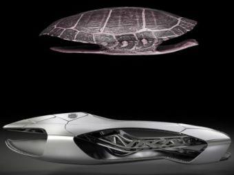 Masina VIITORULUI e aici: e trasa la imprimanta 3D si are forma de BROASCA TESTOASA! Vezi cum arata
