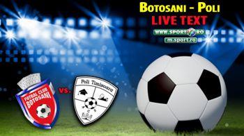 Oaspetii erau sa dea lovitura cu 2 oameni in minus! FC Botosani 1-0 ACS Poli! Vasvari a inscris cu un sut de la 30m
