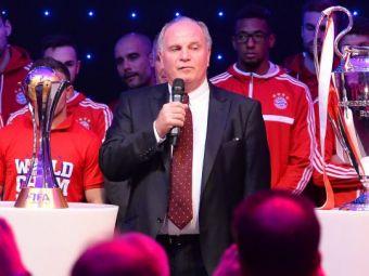 "Uli Hoeness a pledat vinovat, risca 10 ani de inchisoare! Seful lui Bayern a recunoscut ca a furat 18,5 mil €: ""Imi pare rau!"""