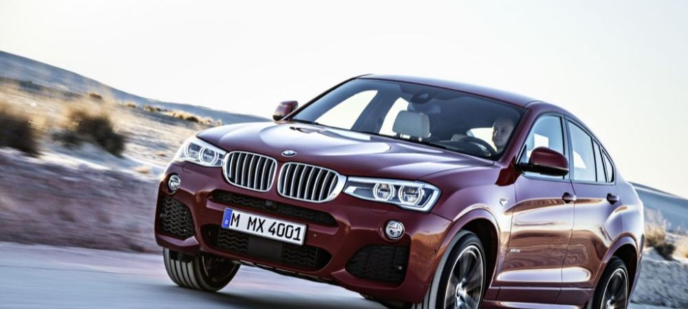 SUPER FOTO Seria este COMPLETA: asa arata noul X4 de la BMW! Primele imagini