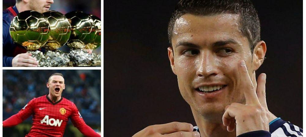CAMPIONII banilor! Topul celor mai bogati fotbalisti din lume! Ce averi au Messi, Ronaldo sau Rooney:
