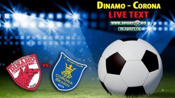 DINAMO 1-0 CORONA, VEZI FAZELE. Lazar o duce pe Dinamo pe locul 4 in Romania! Ce s-a intamplat in momentul in care Rotariu a fost scos de pe teren