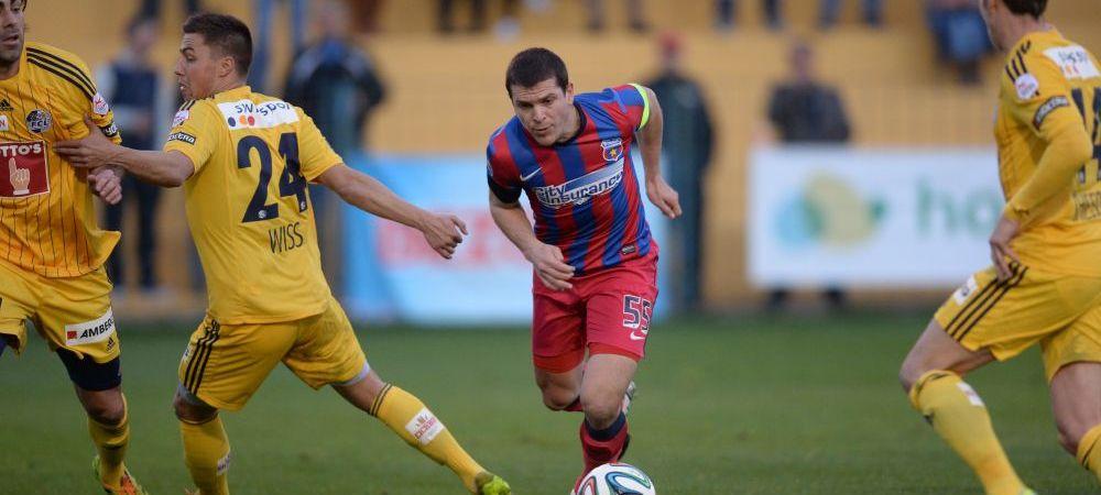 Steaua a marcat 12 goluri in 5 meciuri! Echipa lui Reghe are totusi probleme in atac! Ce s-a schimbat dupa plecarea lui Bourceanu