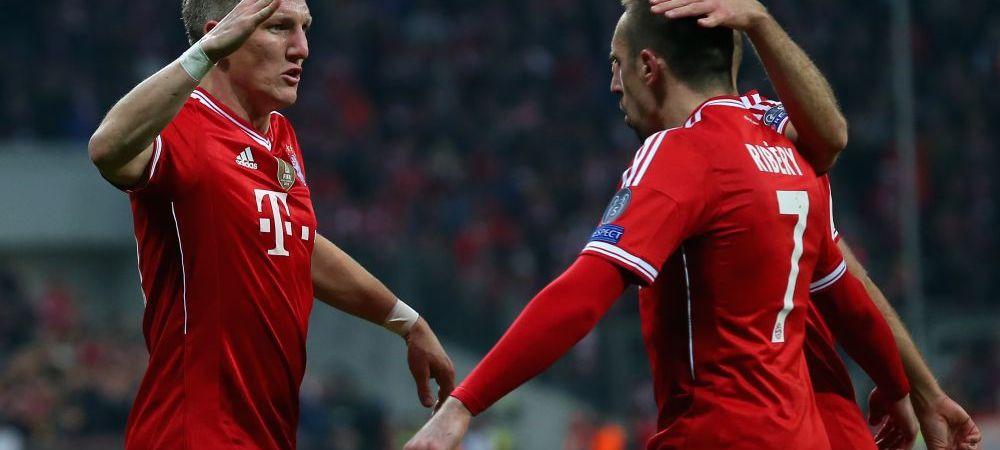 BAYERN 1-1 ARSENAL. Nemtii se califica fara probleme in sferturi! Schweinsteiger si Podolski au marcat, Muller a ratat penalty! VIDEO REZUMAT