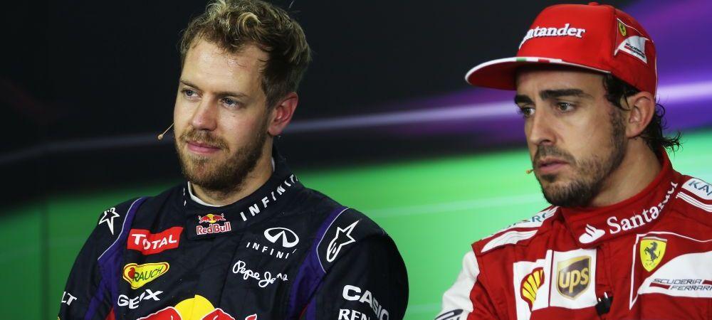Paradoxul din F1! STUDIU: Alonso este cel mai cunoscut pilot, Vettel, campionul ultimelor 4 sezoane, doar pe locul 4! Cum arata topul: