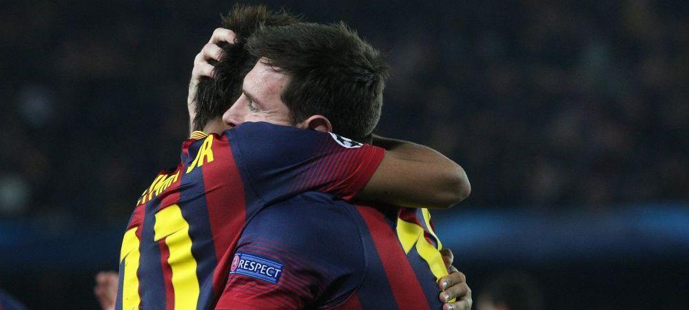 Final nebun pe Camp Nou cu doua goluri in doua minute: Barcelona 2-1 Manchester City! Messi si Dani Alves o duc pe Barca in sferturi. REZUMAT