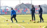 Cum a ajuns Steaua subiect de discutie intre Mutu si Razvan la primul antrenament al lui Lucescu la Petrolul :)