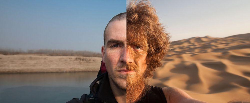 Cum arata acest barbat dupa ce a mers pe jos 4800 de kilometri timp de un an de zile! Transformarea e incredibila. VIDEO