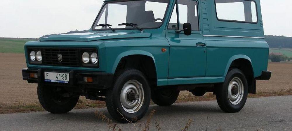 FOTO ARO Revolution! Primul SUV romanesc revine la viata! Cum arata la 10 ani de la faliment: