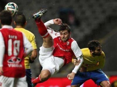 Rusescu a jucat in Coimbra 1-1 Braga! Raul e la un pas de Europa League!