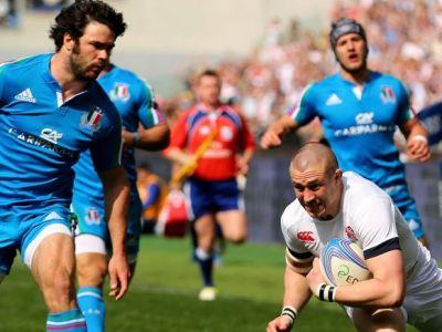Anglia a invins Italia, scor 52-11, la Turneul celor Sase Natiuni!
