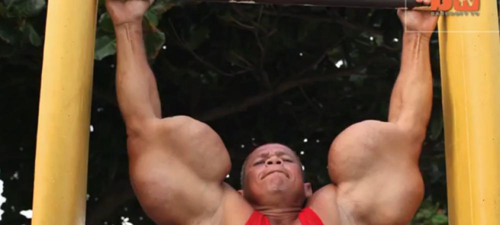 A vrut sa aiba cele mai mari brate din lume, dar a ajuns un MUTANT! Popey din Brazilia a socat internetul! Adevarul despre bratele sale: