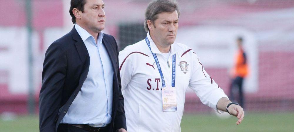 """""""Am jucat execrabil, sunt socat de evolutia noastra!"""" Viorel Moldovan, un vulcan dupa infrangerea cu CSMS Iasi, scor 0-2"""