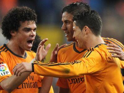 Rrrrronaldo, super executie pentru victoria care o apropie pe Real de titlu: Malaga 0-1 Real! VIDEO