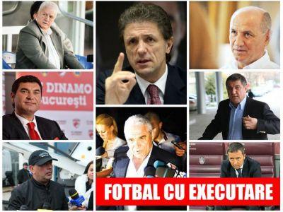 Drama pentru condamnatii din Dosarul Transferurilor! Ce s-a intamplat in 14 zile cu cei 8 oameni de fotbal trimisi dupa gratii