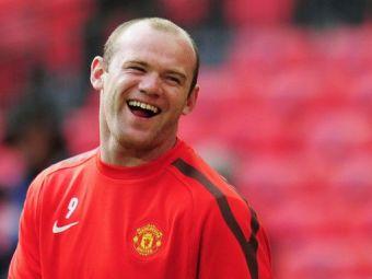 "L-au facut ""magarus"" pe Moyes! :)) Cum l-a umilit Rooney pe managerul lui United! :) VIDEO"