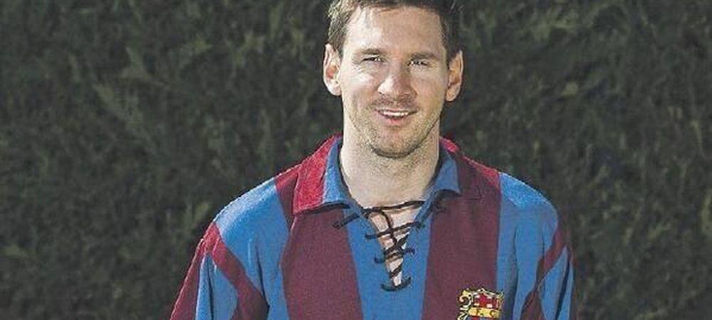 Gestul superb al lui Messi dupa ce i-a batut recordul lui Alcantara. Echipamentul VINTAGE in care a aparut la antrenament :)