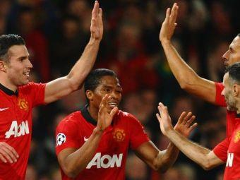VIDEO: Imperiul se clatina, dar sta in picioare! Hattrick-ul lui Van Pesie a dus-o pe Manchester United in sferturi: 3-0 cu Olympiakos!