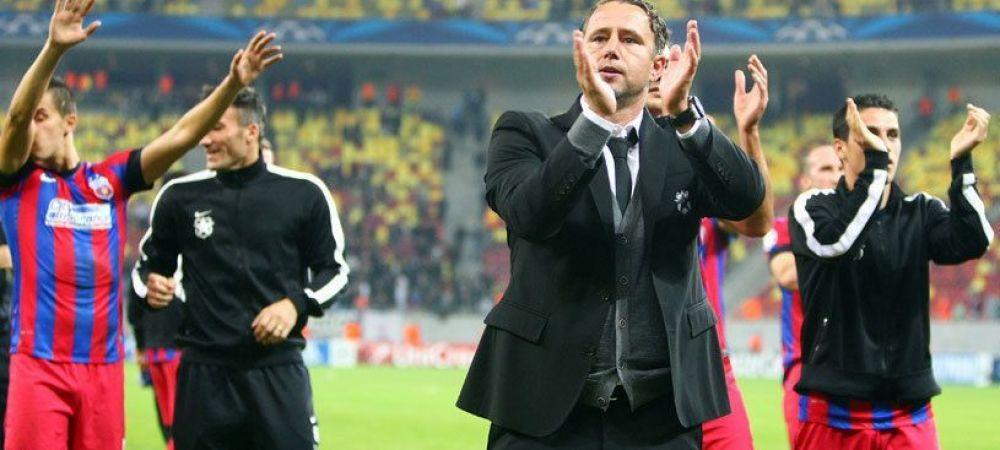 """Doi jucatori pleaca sigur de la Steaua! Becali i-a transmis lui Reghe ce vrea in locul lor: """"E greu sa-l convingem de altceva"""""""