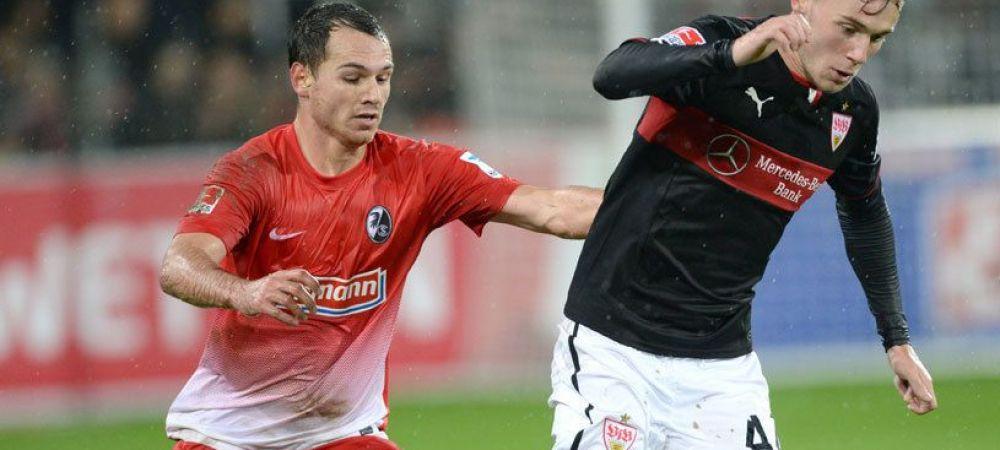 Fanii lui Stuttgart sunt in delir, colegii l-au imbratisat dupa meci! Prima declaratie a lui Maxim dupa golul cu Hamburg