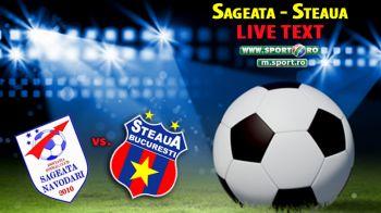 Steaua, SAGEATA spre titlu: SAGEATA 1-2 STEAUA.Varela si Keseru il salveaza pe Reghe! Gol incredibil cu calcaiul pentru Sageata, anulat pentru offside