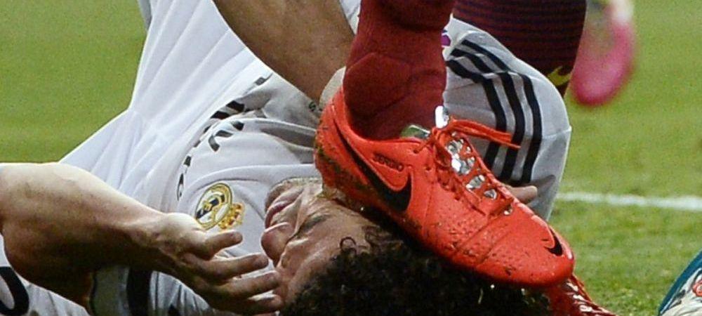 Cel mai nebun El Clasico, cele mai mari greseli de arbitraj! Penalty gratuit acordat Realului, Busquets a scapat de eliminare dupa ce i-a pus piciorul pe cap lui Pepe